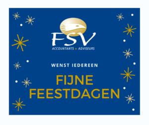 Fijne Feestdagen namens FSV