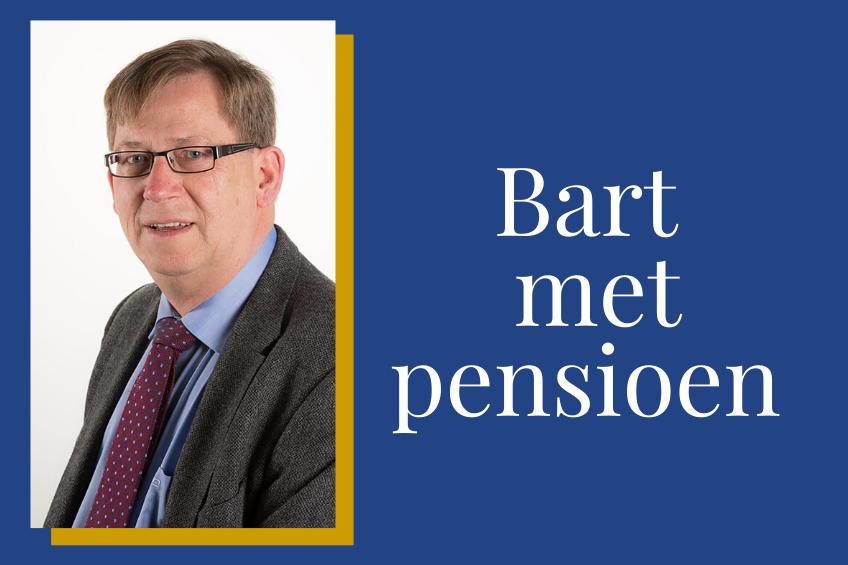 Bart Fuijkschot met pensioen